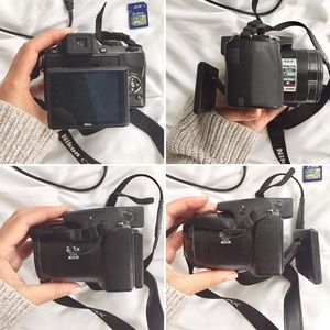 Accessories - SOLD! Nikon CoolpixP90, SD Card, Battery, Charger